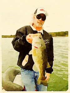 This is my Bass Catching Babe!