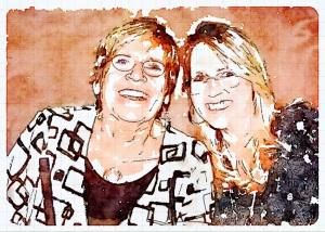 Mom and me!