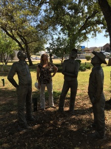 Couldn't figure out what these statue guys were looking at!